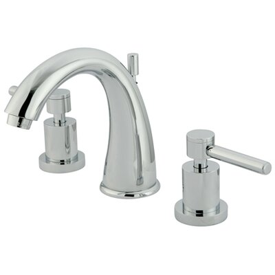 Tampa Widespread Bathroom Faucet with Double Lever Handles - ES296