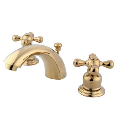 Elizabeth Mini Widespread Bathroom Faucet with Double Cross Handles - EB94X