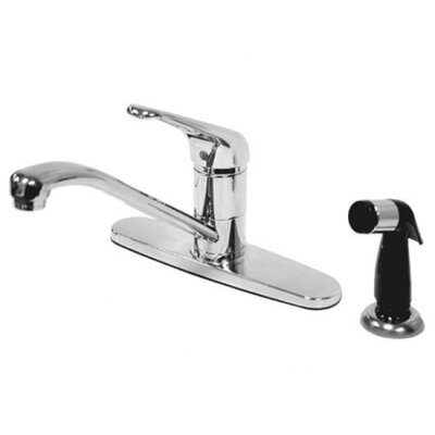 Elements of Design Single Handle Centerset Kitchen Faucet with Loop Handle
