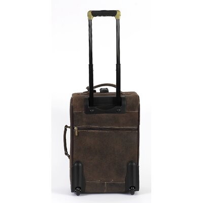 "Claire Chase Classic 22"" Pullman Rolling Carry On"