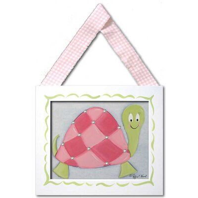 Doodlefish Lilly Turtle Framed Giclee