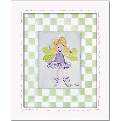Doodlefish Fairies Fairy Framed Giclee - Blonde Wall Art