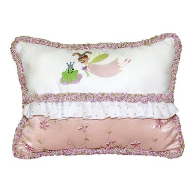 Princess Embroidered Throw Pillow