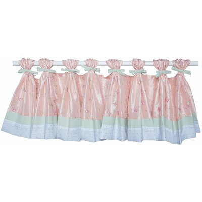 Doodlefish Princess Tab Top Ruffled Curtain Valance