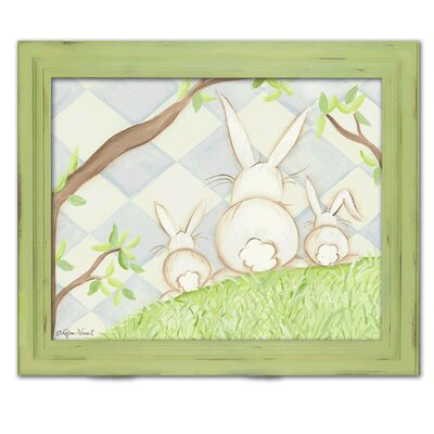 Bunny Blue Diamond Giclee