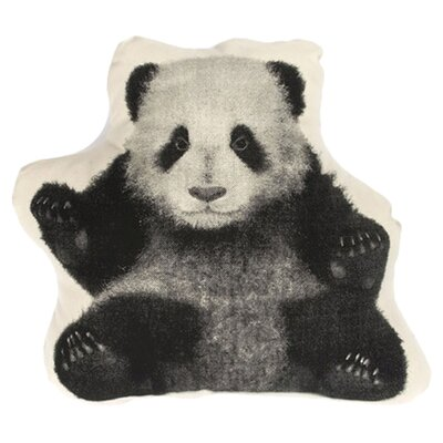 Fauna Mini Organic Cotton Panda Cushion