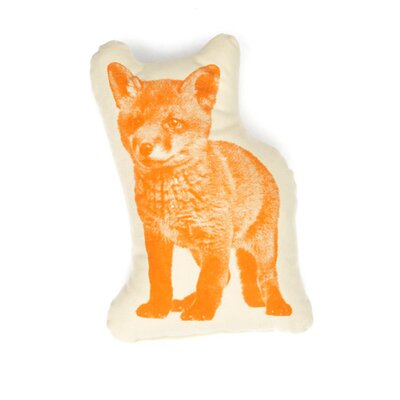 Fauna Picos Organic Cotton Fox Pillow