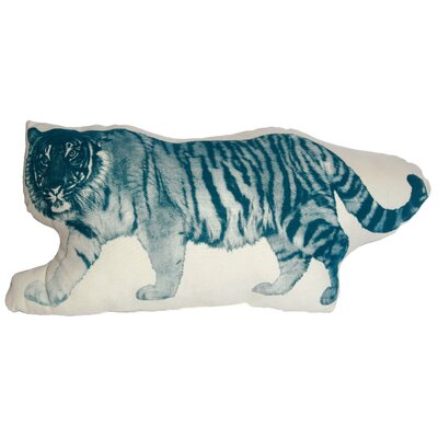 Mini Organic Cotton Tiger Cushion
