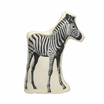 Fauna Picos Organic Cotton Zebra Pillow