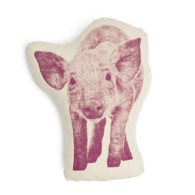 Fauna Picos Organic Cotton Pig Pillow