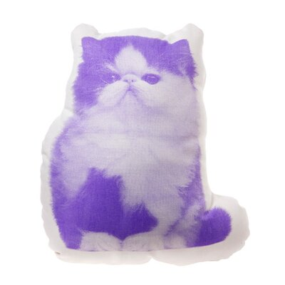 Mini Organic Cotton Persian Cat Pillow