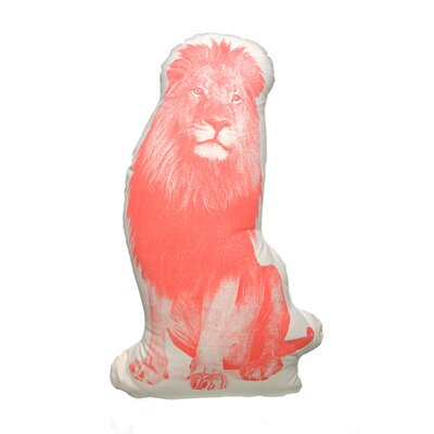 Organic Cotton Lion Pillow