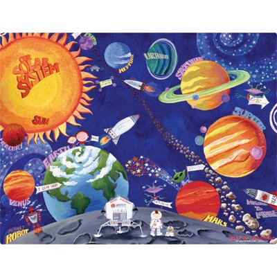 Magic Slice Solar System Play n' Placemat