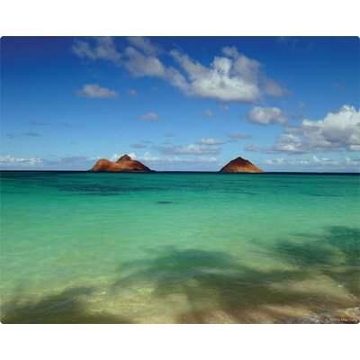 Lanikai Beach and Mokuluas Cutting Board