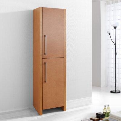 """Virtu Delano 62.2"""" x 15.7"""" Freestanding Linen Cabinet"""