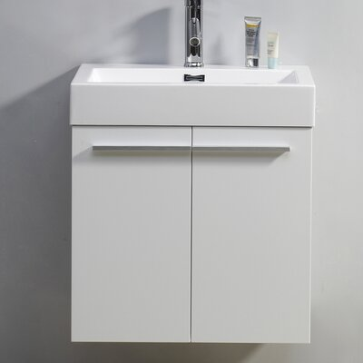 "Virtu Midori 23.2"" Single Bathroom Vanity Set"