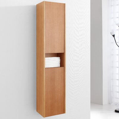"Virtu Delmore 55.1"" x 11.8"" Wall Mounted Cabinet"