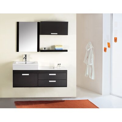 "Virtu Alica 51"" Single Bathroom Vanity Set"