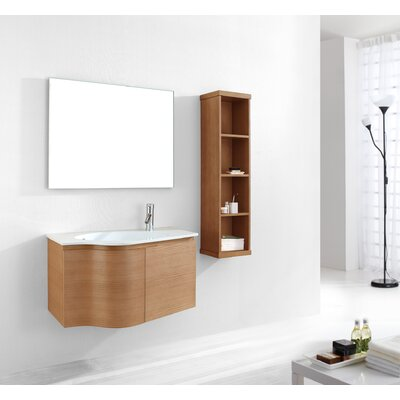"Virtu Roselle 35.4"" Single Bathroom Vanity Set"