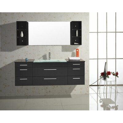 "Virtu Colombo 62"" Bathroom Vanity Set"