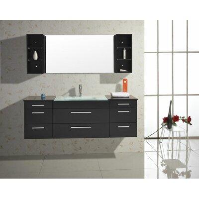 """Virtu Colombo 62"""" Bathroom Vanity Set"""