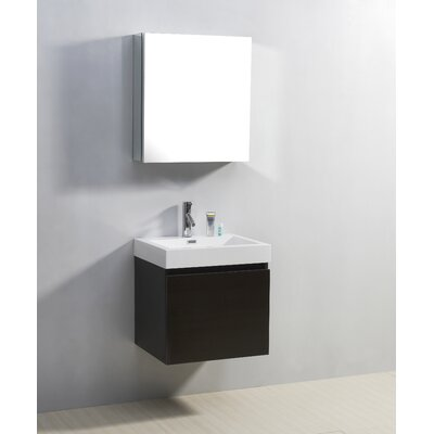 "Virtu Zuri 22.4"" Single Bathroom Vanity Set"