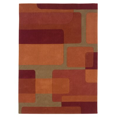 Trio Orange/Pumpkin Rug