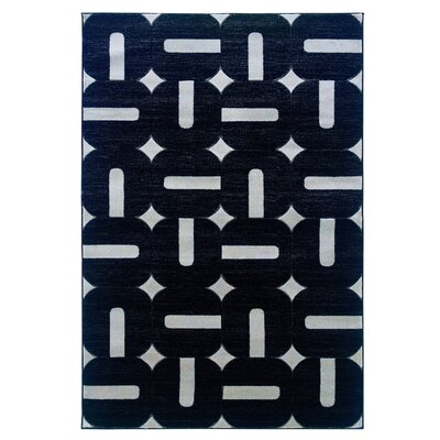 Milan Black/Grey Rug