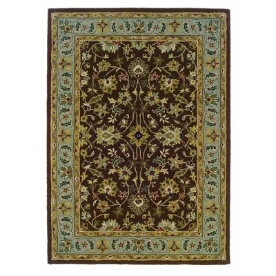 Linon Rugs Trio Brown/Light Blue Rug