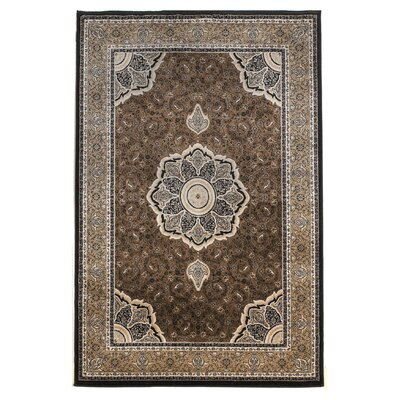 Linon Rugs Milan Brown Rug