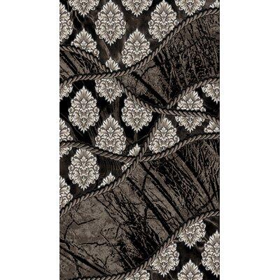 Jewel Brown/Black Rug