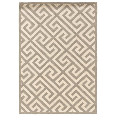 Silhouette Grey Key Rug