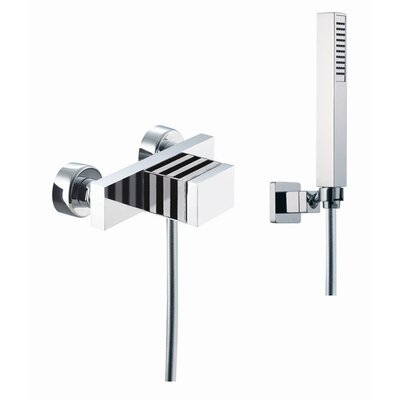 Fima by Nameeks Bio Shock Wall Mount Automatic Diveter Faucet Shower Faucet Trim Only with Hand Shower