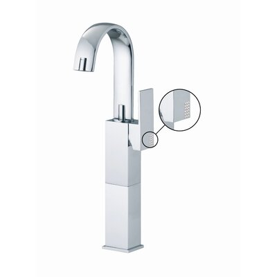 Fima by Nameeks Brick Single Hole Bathroom Sink Faucet with Single Handle