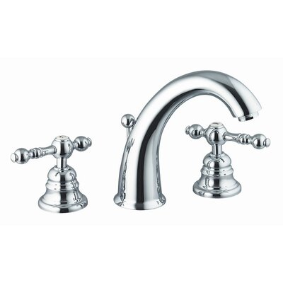 Fima by Nameeks Epoque Widespread Bathroom Sink Faucet with Double Lever Handles