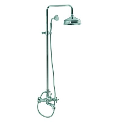 Fima by Nameeks Elizabeth Wall Mount Thermostatic Tub and Shower Faucet with Hand Shower