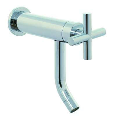 Fima by Nameeks Maxima Wall Mounted Bathroom Sink Faucet with Single Cross Handle