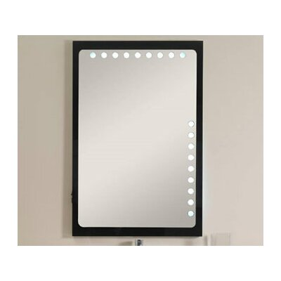 "Iotti by Nameeks Fly 41.3"" Mirror in Glossy Black"