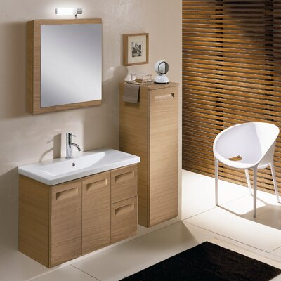 "Iotti by Nameeks Integral NG2 30.4"" Wall Mounted Bathroom Vanity Set"