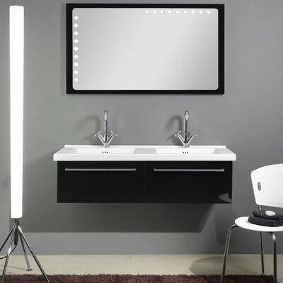 "Iotti by Nameeks Fly 48.6"" Bathroom Vanity Set"