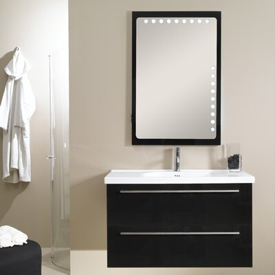 "Iotti by Nameeks Fly 40.1"" Wall Mounted Bathroom Vanity Set"