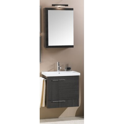 "Iotti by Nameeks Simple 22.5"" Wall Mounted Bathroom Vanity Set"