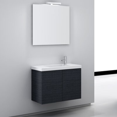 "Iotti by Nameeks Happy Day 31.5"" Wall Mount Bathroom Vanity Set"