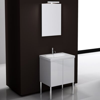 "Iotti by Nameeks Trendy 23.2"" Footed Bathroom Vanity Set with Feet"