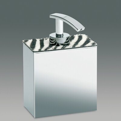 Windisch by Nameeks Zebra Soap Dispenser