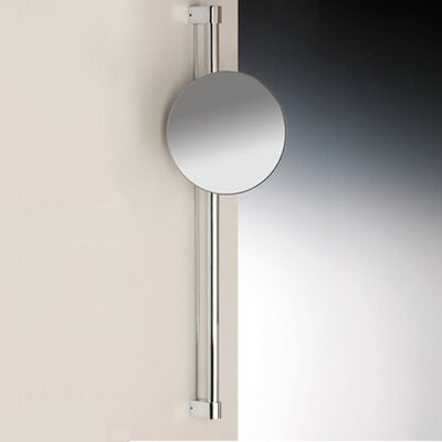 One Face Wall Mounted 5X Magnifying Mirror