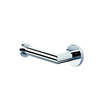 Geesa by Nameeks Circles Wall Mounted Toilet Paper Holder in Chrome