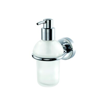 Geesa by Nameeks Luna Wall Mounted Soap Dispenser in Chrome