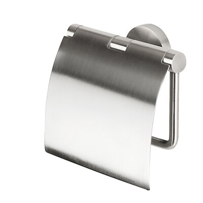 Geesa by Nameeks Nemox Wall Mounted Toilet Paper Holder with Cover