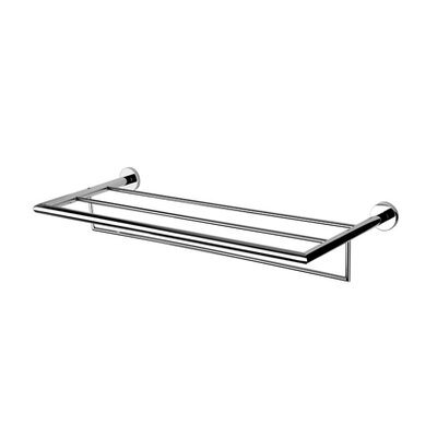 Geesa by Nameeks Nemox Bath Towel Shelf in Chrome